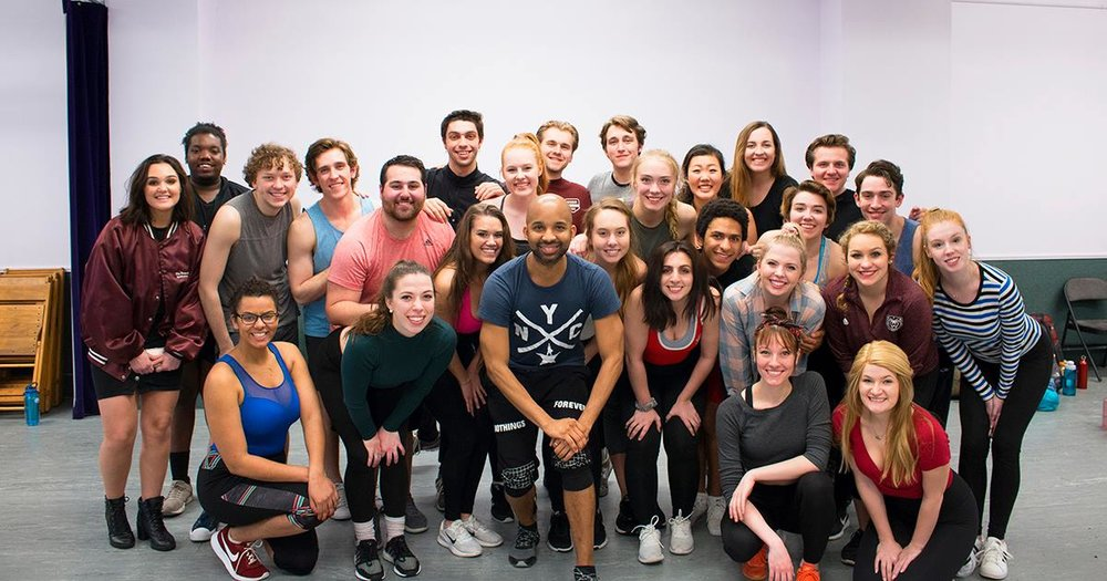 Broadway Swing Training  with Missouri State University (Alma Mater)