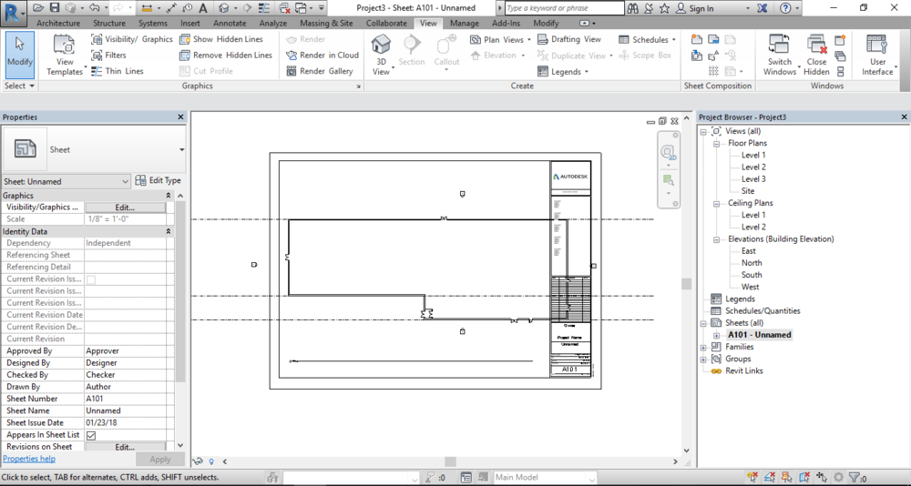 Revit Floorplan doesn't fit on the sheet!