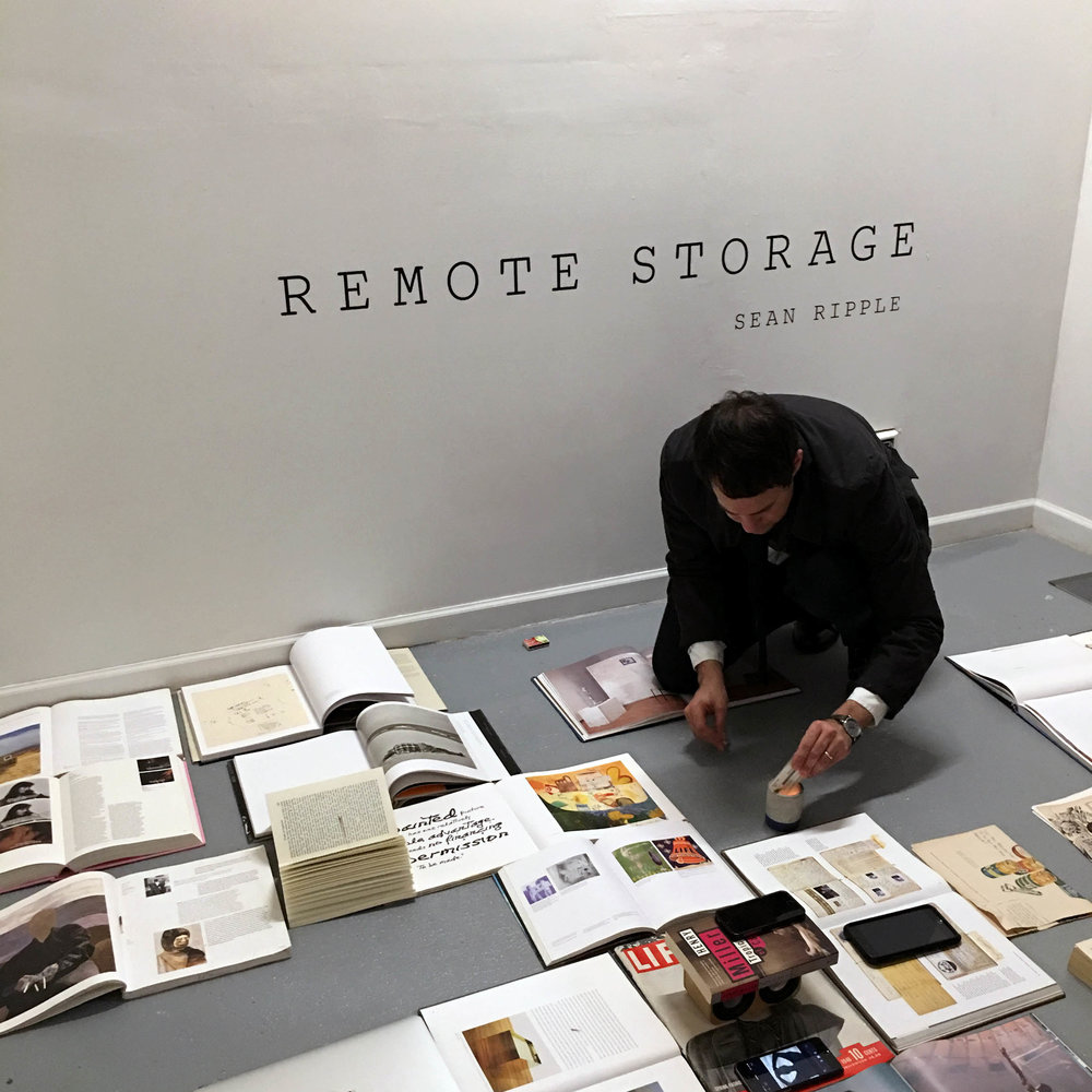 "Documentation of ""The Library, A Performance,"" held at DDP on March 31, 2018, officially closing REMOTE STORAGE."