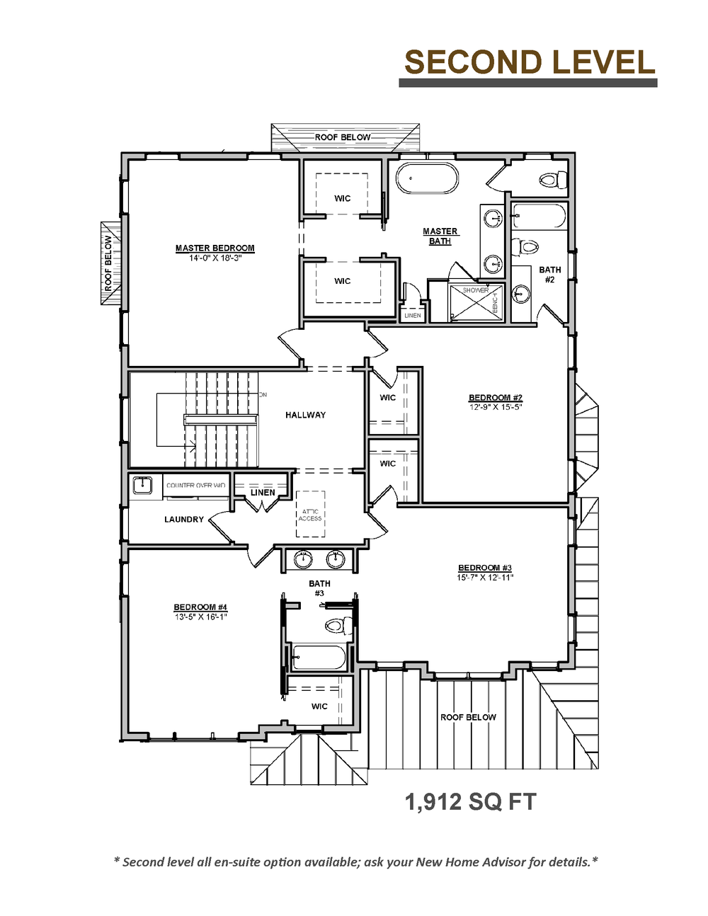 The Sycamore Floor Plan Second Level 8.5 x 11.png