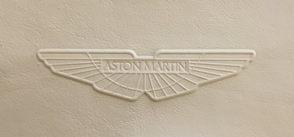 Aston Martin Embossed Wings