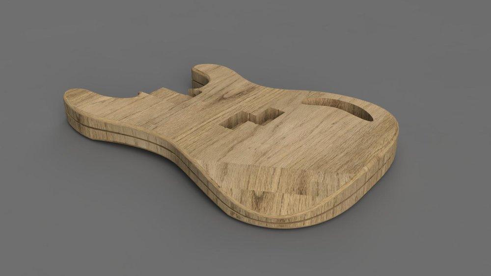 Bespoke Guitar CAD