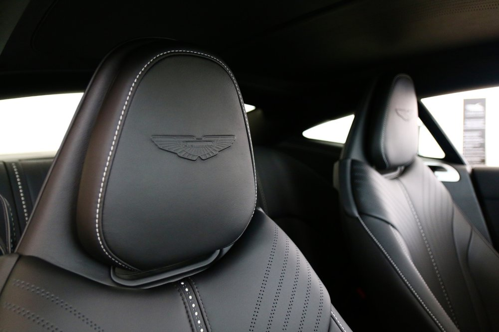 Aston Martin Wings Embossing