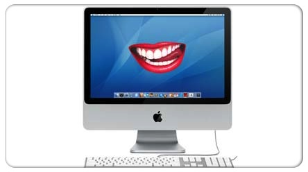 imac text to speech feature