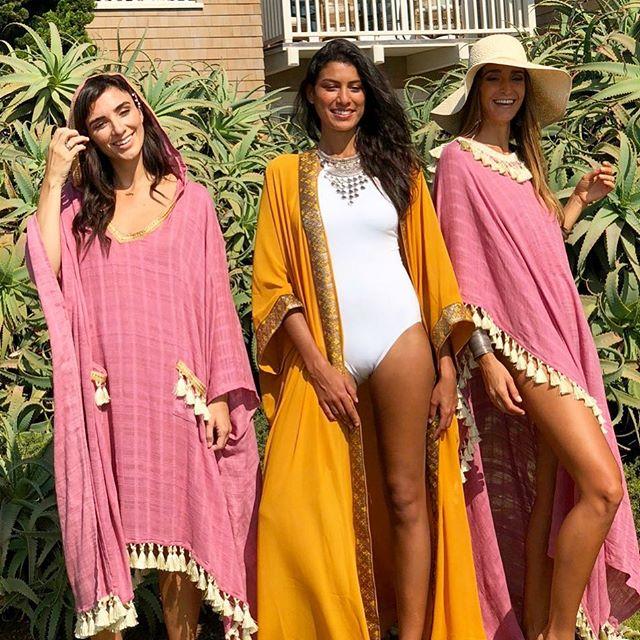 Girls Just wanna have fun🎉😄 These lovelies wearing Farah, Salma and Yara 💖💛💖 #poskaresortwear @scullysculls @rayzaakinstoph @meaganjmitchell . . . #breeze #beach #sun #resortwear #poolside #travelessentials #travelwear #getaway #vacationoutfit ##beachstyle #beachdays #vacationblogger #femmetravel #summerchaser #fashiondaily #girlsjustwannahavefun #fashionblogger #ootd #ootdfashion