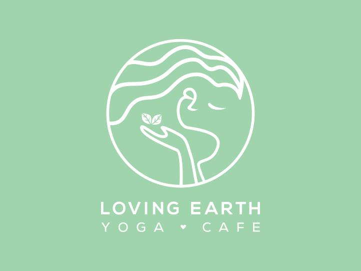 Loving Earth Yoga Cafe Logo