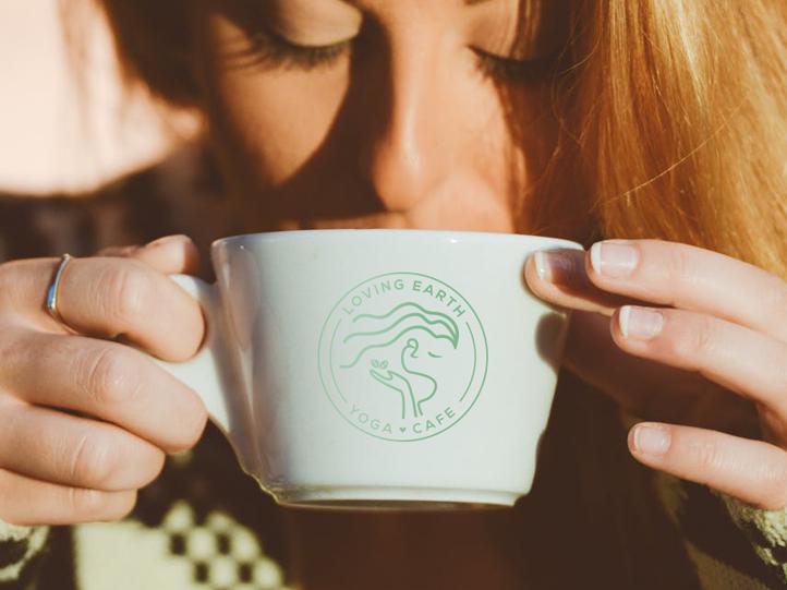 Loving Earth Coffee Mug Mockup