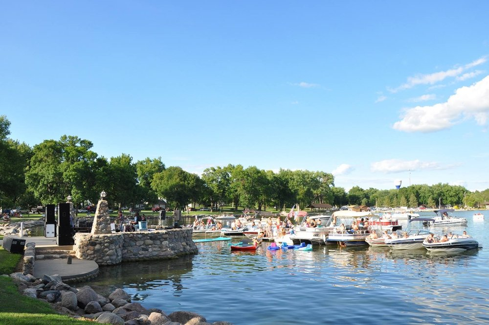 #rocktheboats - Whether you choose to listen on the lake or on land, we can guarantee this is a small-town Iowa summer experience you cannot miss.