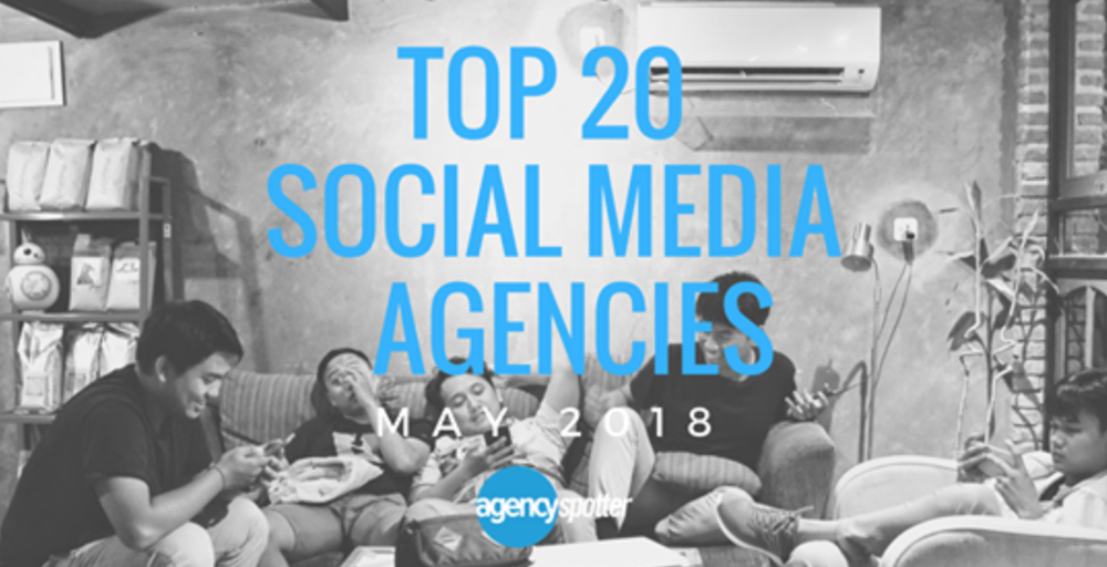 Top Social Media Agency by Agency Spotter