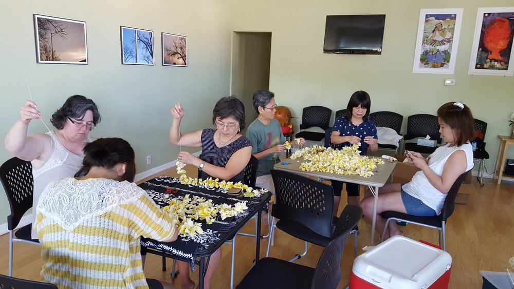 lei making tables.jpg