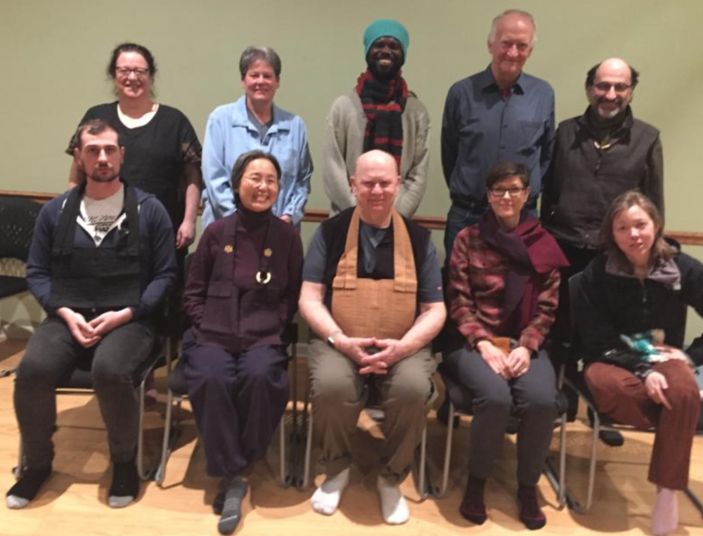 Intensive Zen Practice participants at the Zen Life & Meditation Center, Chicago, December 2018.