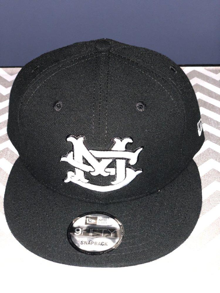 Black New Era 9Fifty Flat Bill MS Logo Hat Adjustable — Matt Stillwell f2d6e347cda2