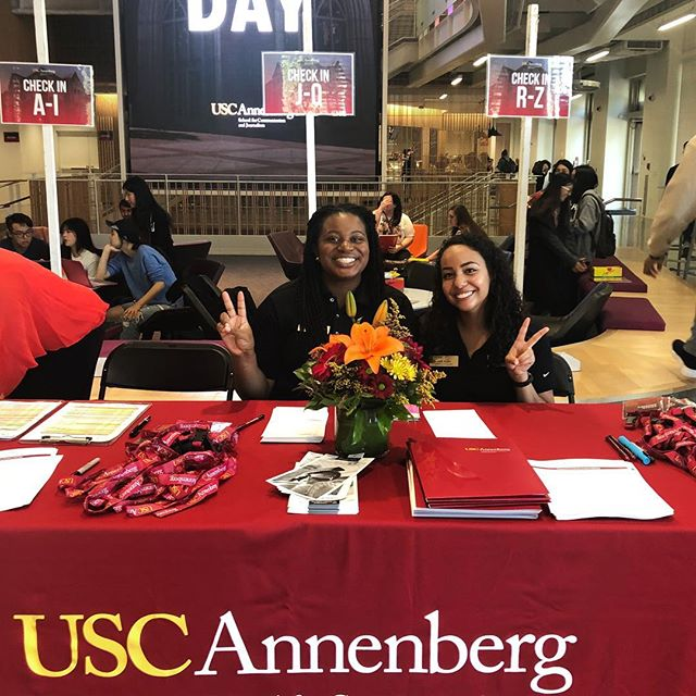 We enjoyed welcoming prospective grad students at Grad Visit Day today. We hope you come back soon! ✌️#ASCJ #gradvisitday