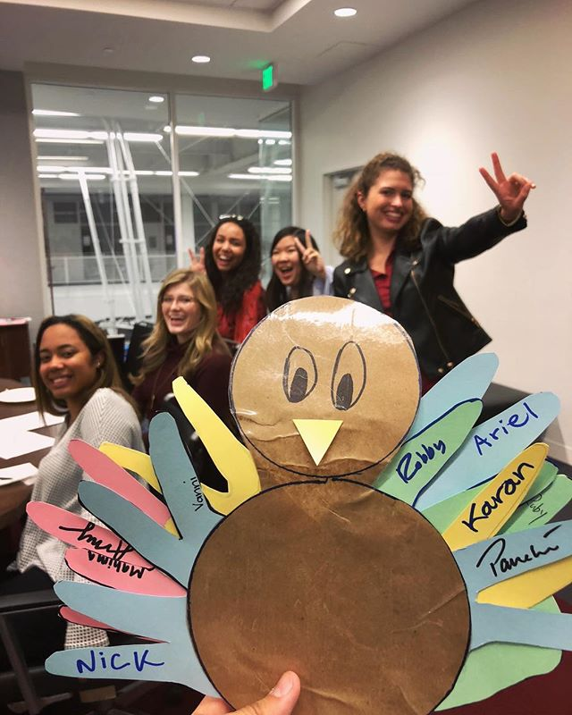 Happy Thanksgiving from our ambassador family to you and yours ✌️🍁🍽 #thanksgiving #thankful