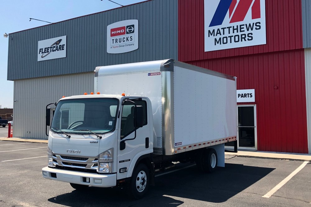 2018 Isuzu NPR DB3 Gas with 16' Box - Stock No: N/A (Order Only)Class: Class 4 (GVW 14001 - 16000)Category: Box TruckCab Type: STANDARD CABEngine Make: IsuzuEngine Size: 6LFuel Type: GasolineVIN: N/A (Order Only)