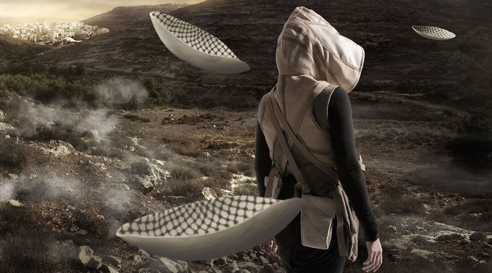 In the futurethey ate from the finest porcelain - A film by Larissa Sansour and Søren Lind