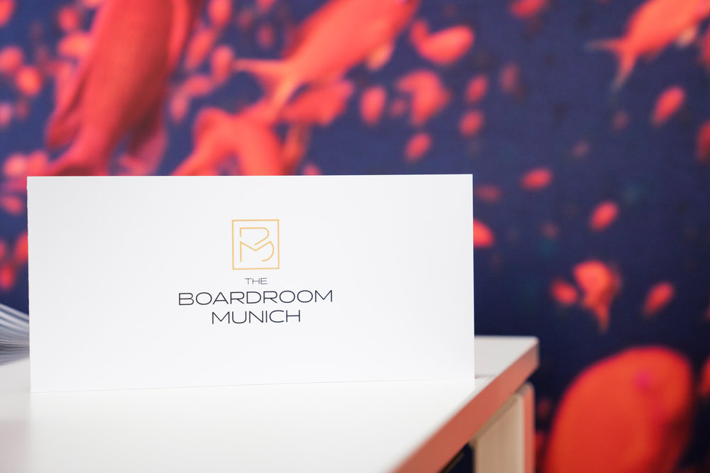 The Boardroom Munich. - Connecting the best.
