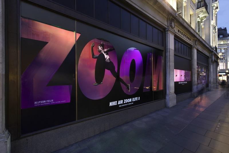 Nike Zoom Signage -