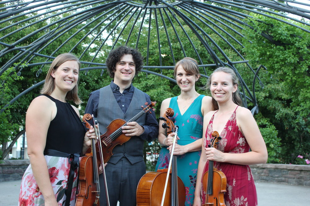 venuti quartet music garden photo.JPG