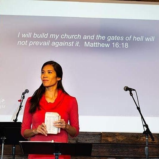 Jocelyn White at Immanuel Covenant Spokane WA . . . . #fourmore #fourmorewomeninthepulpit #covchurch #womenpreachers