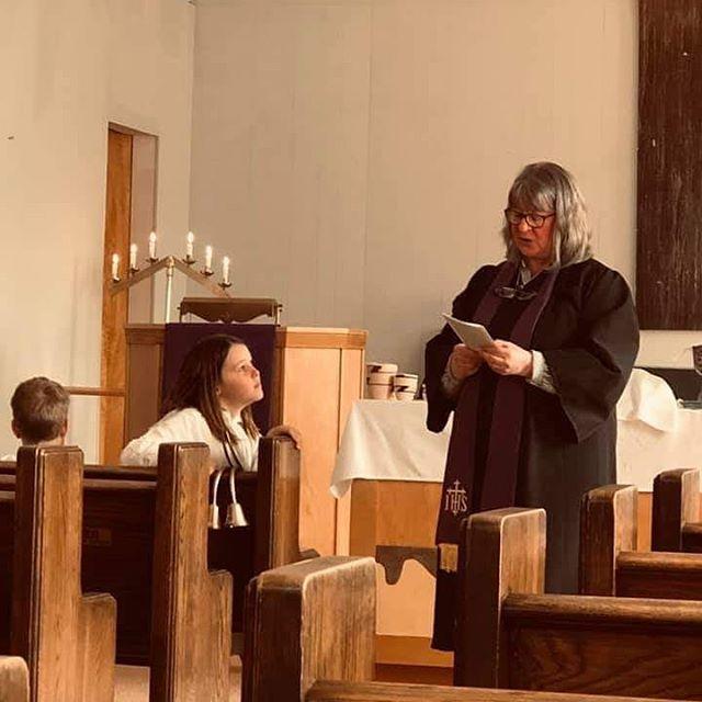 The children are watching.  St. Paul's Free Methodist Greenville IL . . . . #fourmore #fourmorewomeninthepulpit #representationmatters #womenpreachers