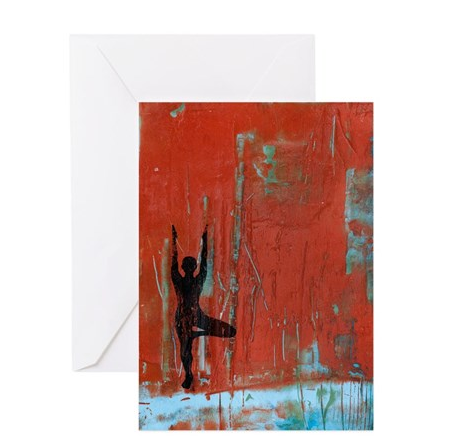 Yoga Girl Gift Cards available from cafepress site: http://www.cafepress.com/yogagirlpaintings