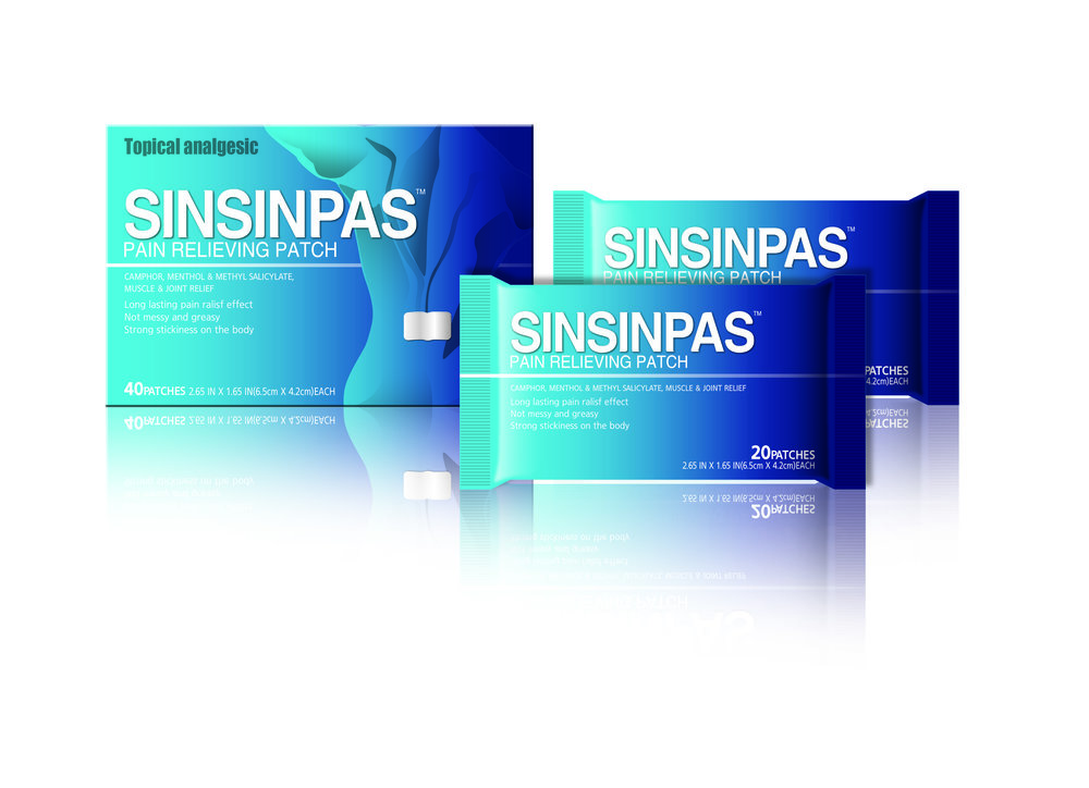 SINSINPAS Pain Relieving Patch