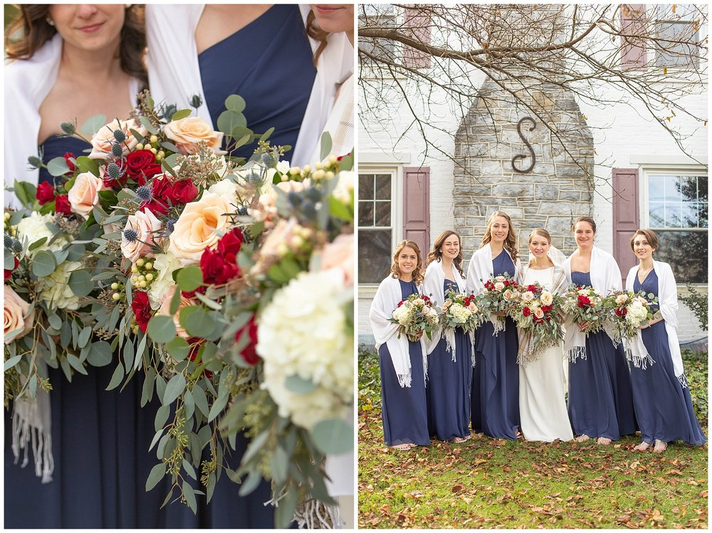 The florals were the amazing work of  Custom Florals . Heather Heagy is SO talented!