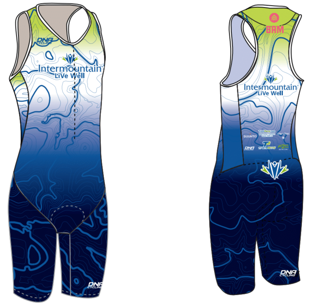 Mens Sleeveless Trisuit