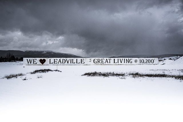 The Leadville Living wall is gone 😭but the love for this town and these mountains remain! (And so does the snow!) ❄️❄️ . 📸@justintalbot .  #november #winter #legendaryraces #cloudcitymultistage #ultrarunning #ultra #colorado #leadville