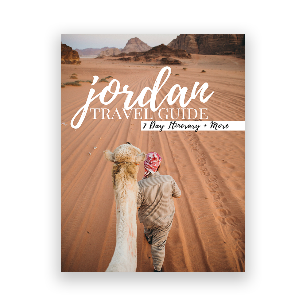 Jordan Travel Guide - Planning trips can be overwhelming, which is why we've done the research for you on some of our favorite places. Each guide features photo inspo, practical tips, and a 7-day itinerary to help you plan your dream trip.