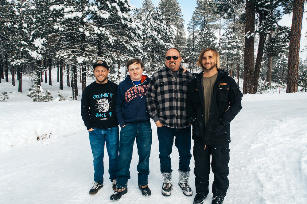 The boys (missing my oldest brother)