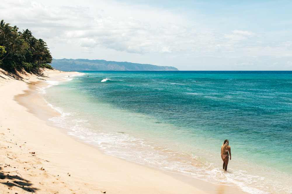 The North Shore really is a 7 mile miracle! You can't go wrong with any North Shore beach.