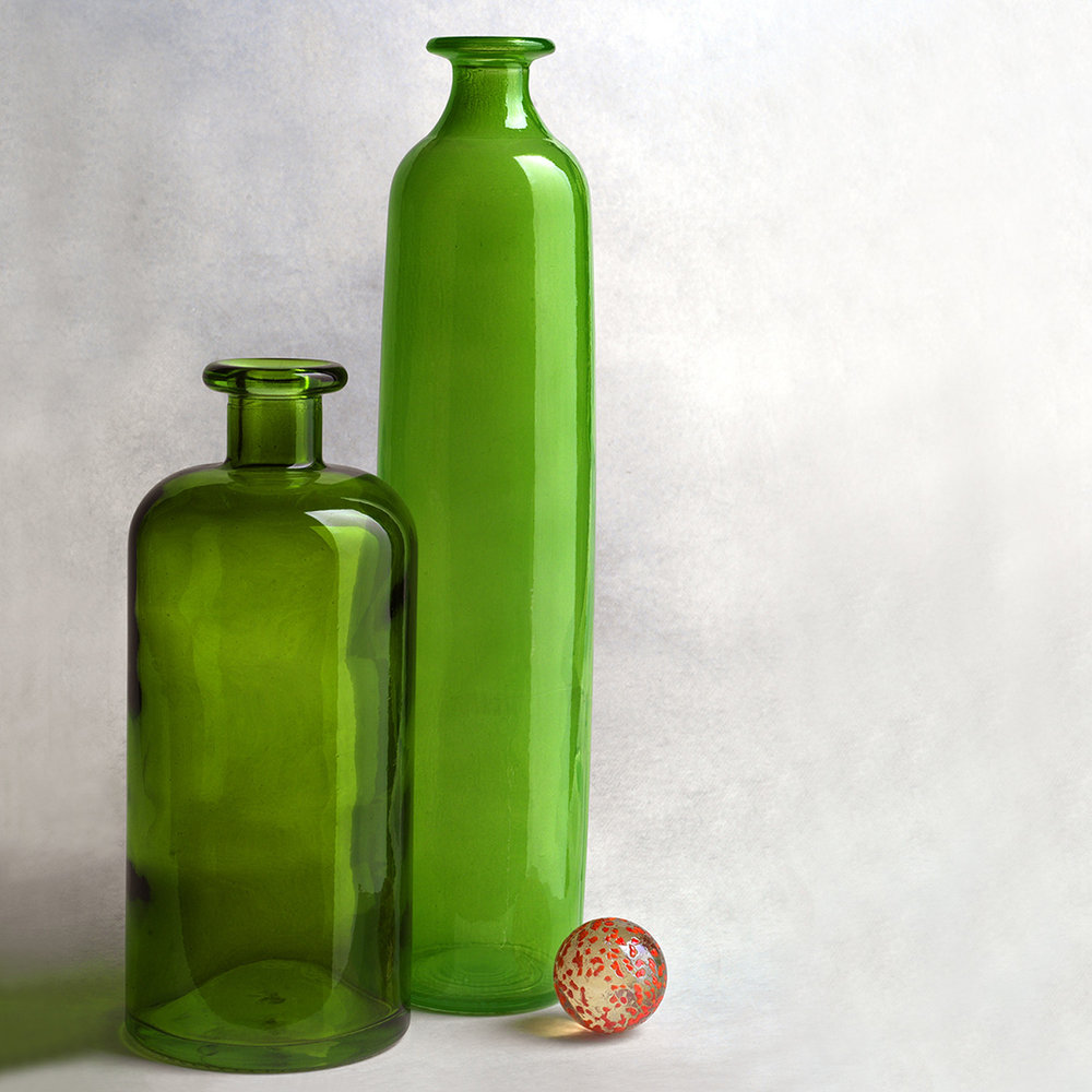 Two Green Bottles