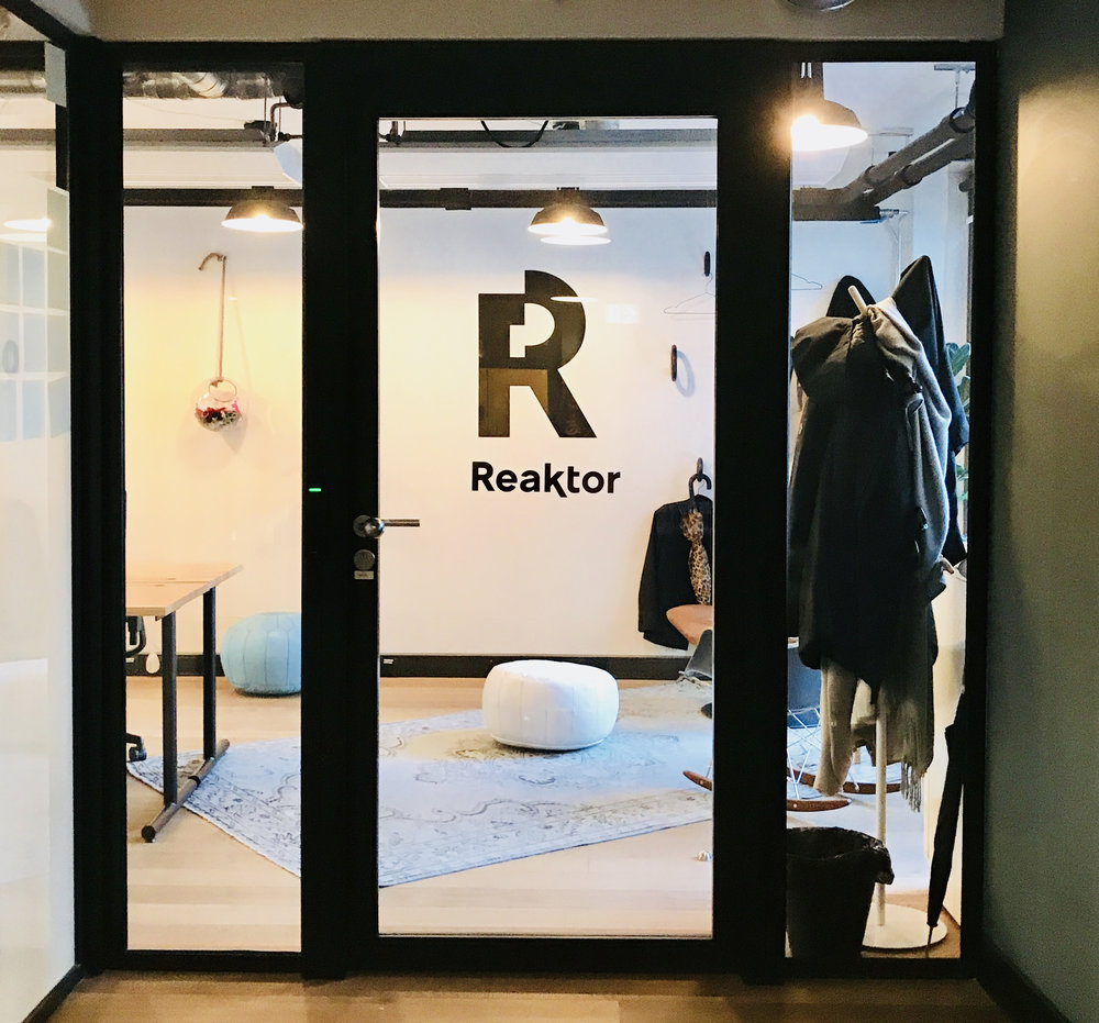 Reaktor WeWork - The first project in the series...