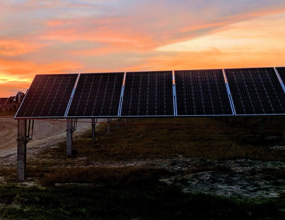 Ground Mounted Solar - ANTARES has also provided on-site construction services to Dominion Energy for installation of utility scale ground-mount projects in North Carolina