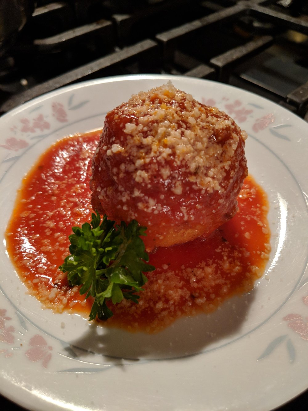 Swiss Stuffed Saffron Arancini