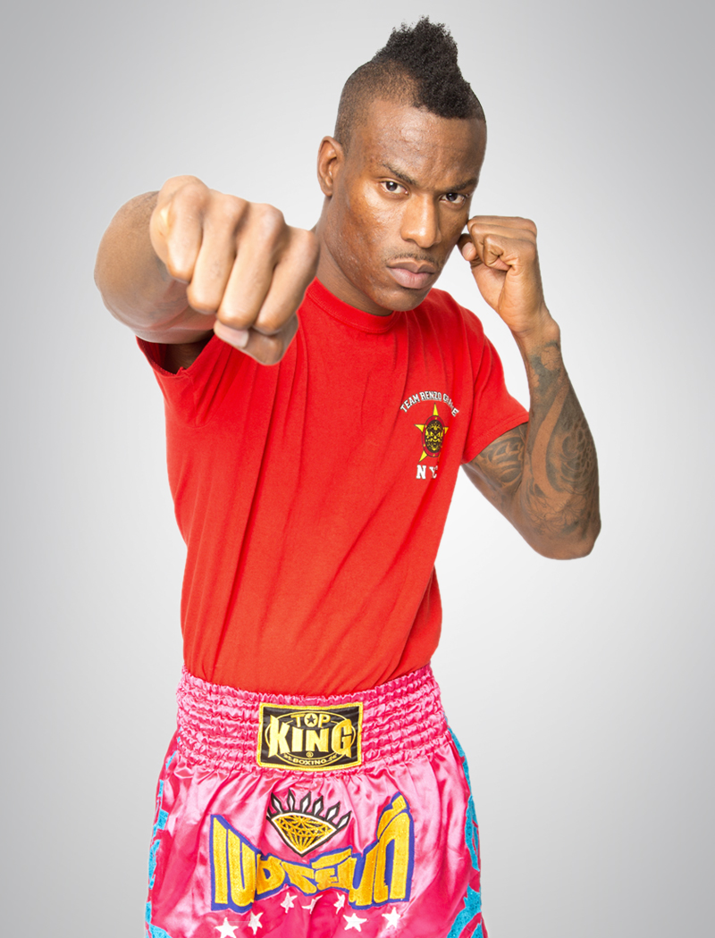 ELIJAH CLARKE   Muay thai instructor