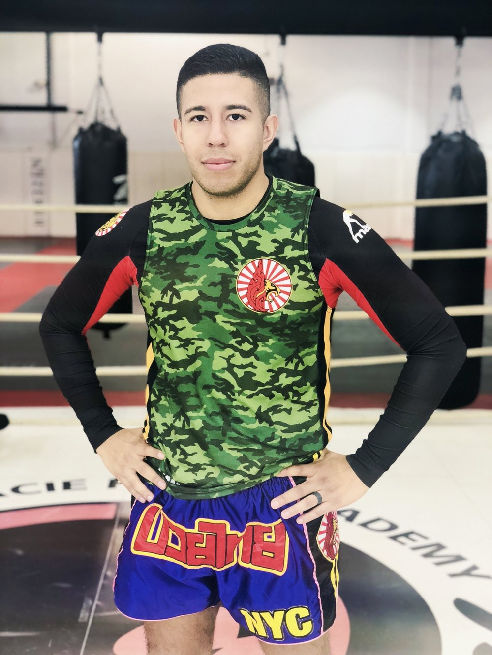 "JEAN PAUL ""JP""   Muay thai instructor"