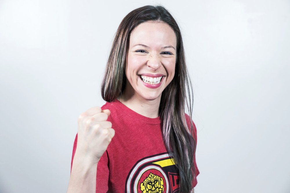 ANNE LIEBERMAN   Muay thai instructor