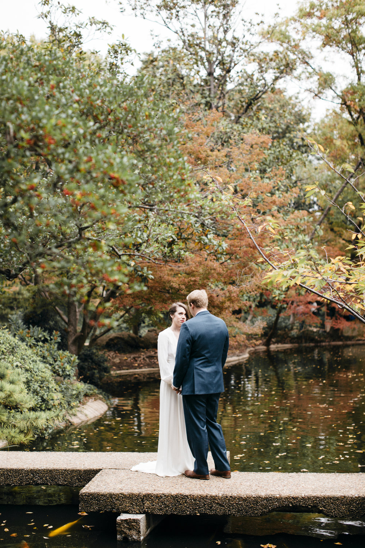 Katie + Alex Japanese Garden Wedding in Fort Worth, TX — Ellerman ...