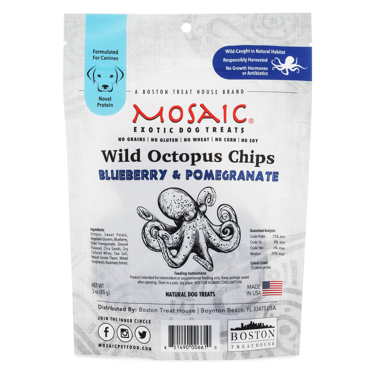 Wild Octopus Chips | Blueberry & Pomegranate (3 oz)