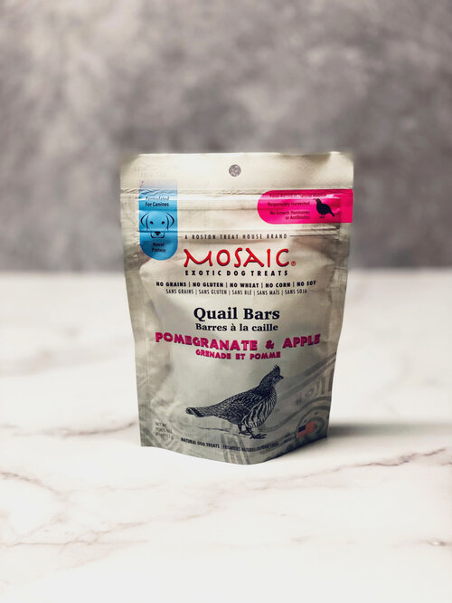 Quail Bars | Pomegranate & Apple (4 oz)
