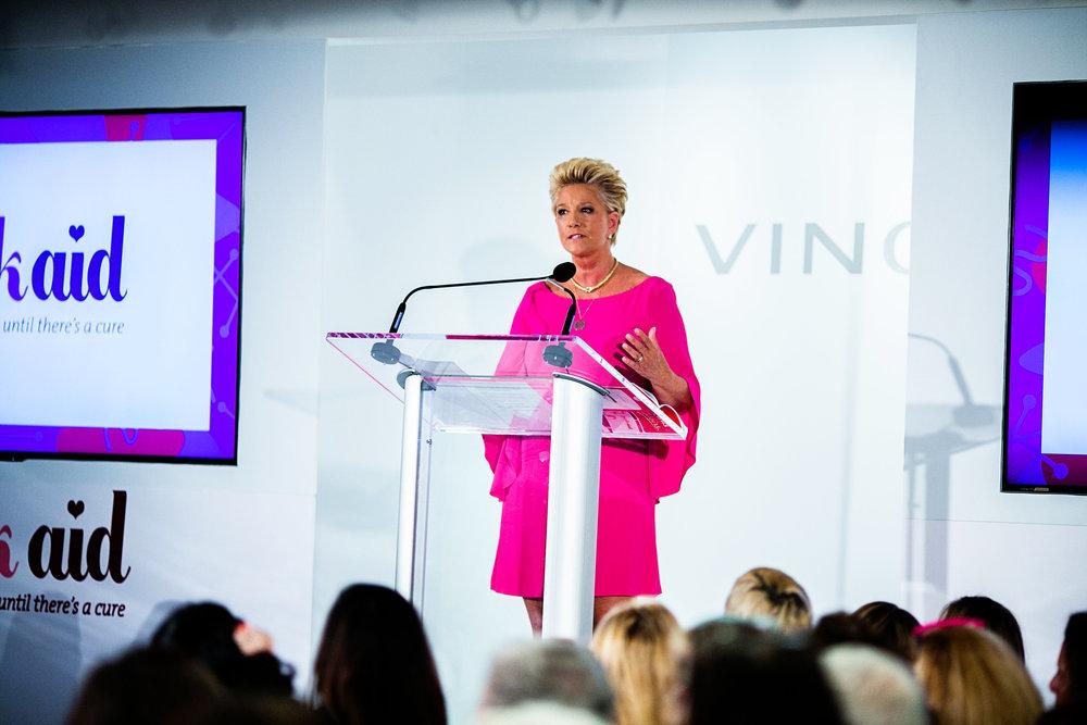 Joan Lunden | Pink Aid | Mitchell's, Westport, CT.