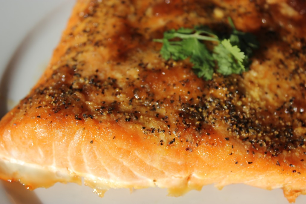 BBQ BROWN SUGAR SALMON- this will change the way you think of fish! @thefoodnanny.com