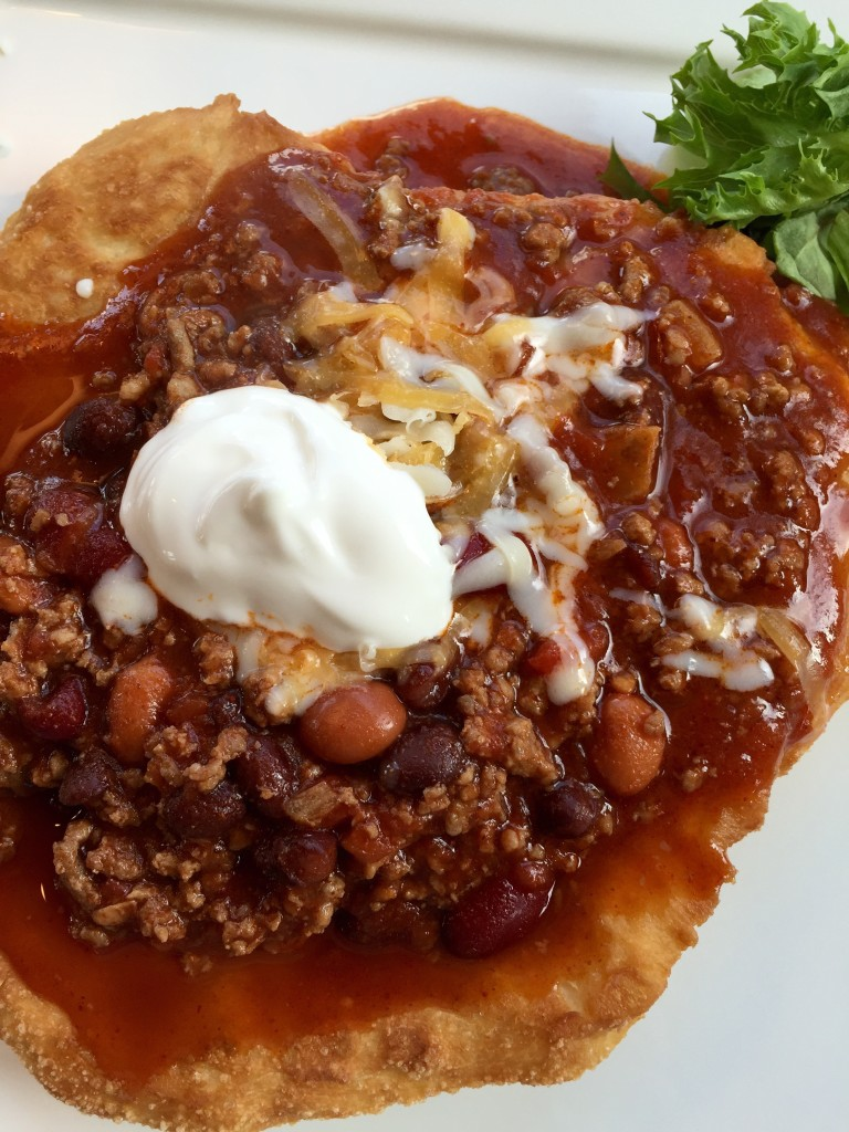 Navajo Tacos are an easy buffet style meal that everyone will enjoy!