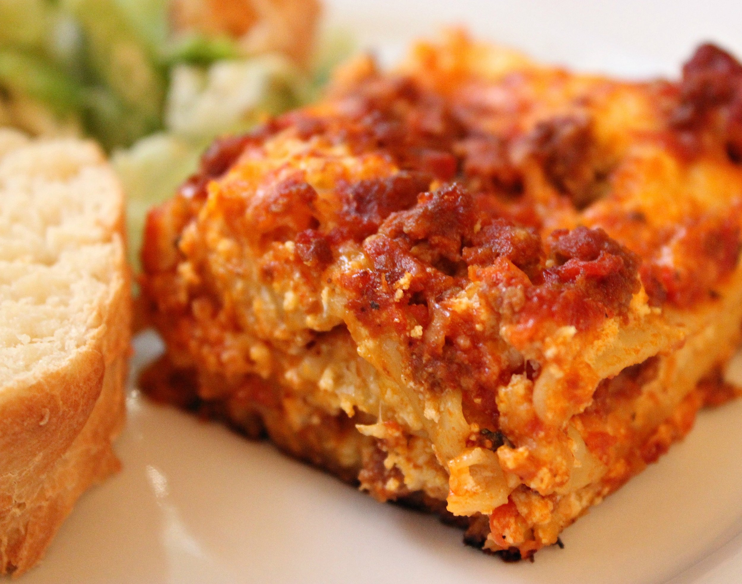 Easy american lasagna the food nanny i started making this quick and easy lasagna for a change and no one could tell the difference lasagna forumfinder Images