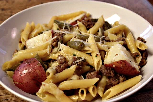 red potatoe pasta 2