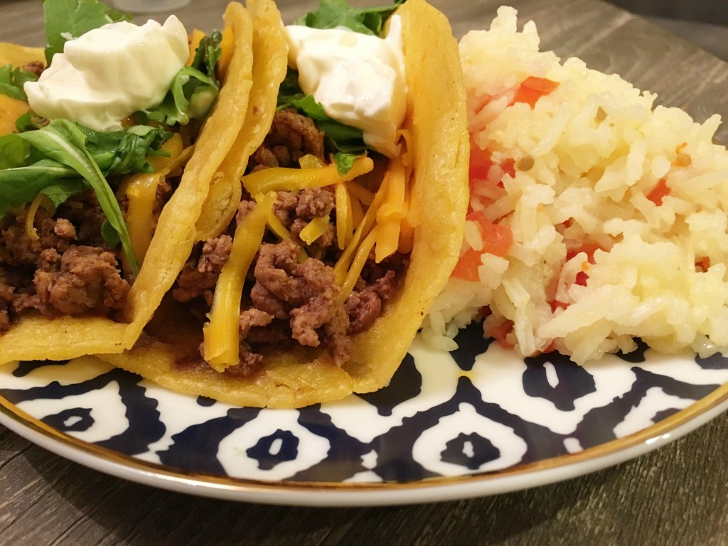 TEXAS-STYLE BEEF TACOS