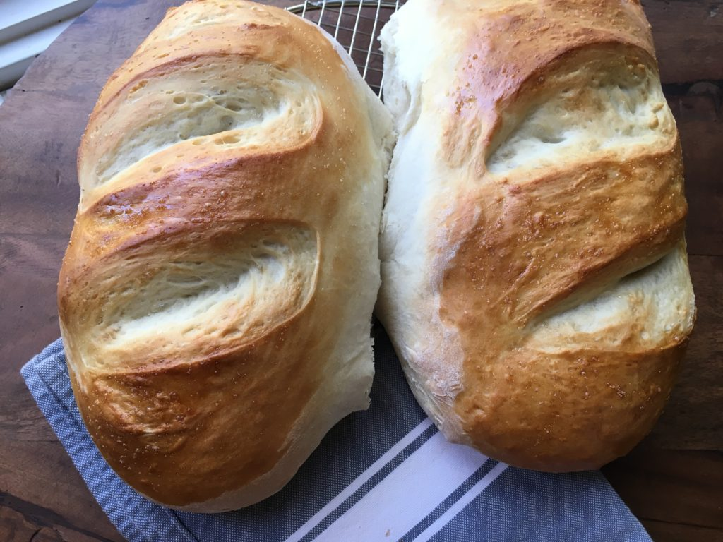 Italian Bread is amazing!!! Our Mom has THE best breads on earth! Baking bread is easier than you think! thefoodnanny.com